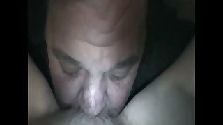 licking a grannys hairy pussy