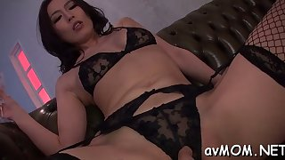 slut milf asian sucks on hard cock