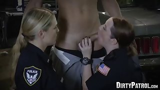 milf cop maggie green shares young bbc with partner