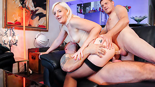 LETSDOEIT - Mature Slut Candys Gets Both Holes Drilled Hard